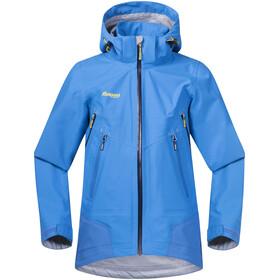Bergans Ervik Jacket Barn light winter sky/athens blue/navy